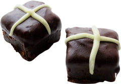 Dello Mano Hot Cross Brownies - the Original and the best brownie