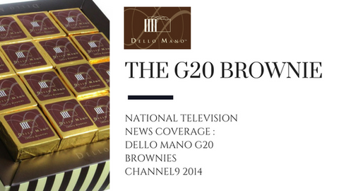 Dello Mano Channel 9 News Coverage of G20 Brisbane Summit Brownie