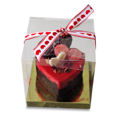 Brownie Heart in Gift Box
