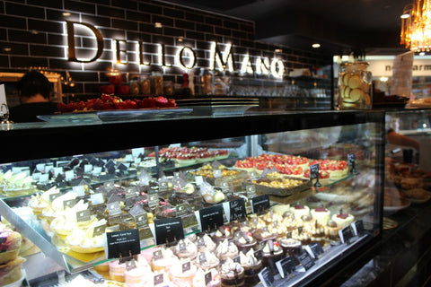 Dello Mano now offers a range of sweet and savoury items