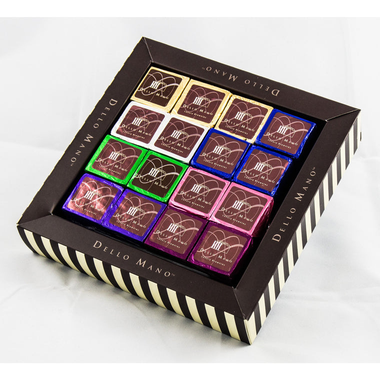 Gift Box Luxury Brownie : Mixed Selection - Dello Mano  - 1