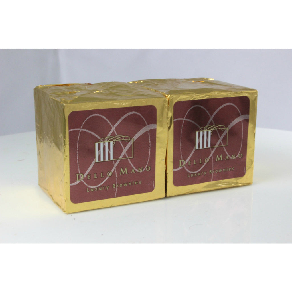 Dello Mano Luxury Brownies : 2 cube gift box BULK BUY - Dello Mano  - 1