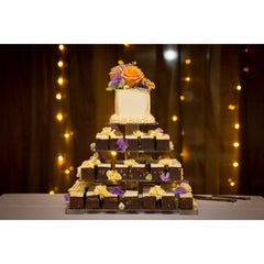 Tiered Brownie Cake - Dello Mano  - 1