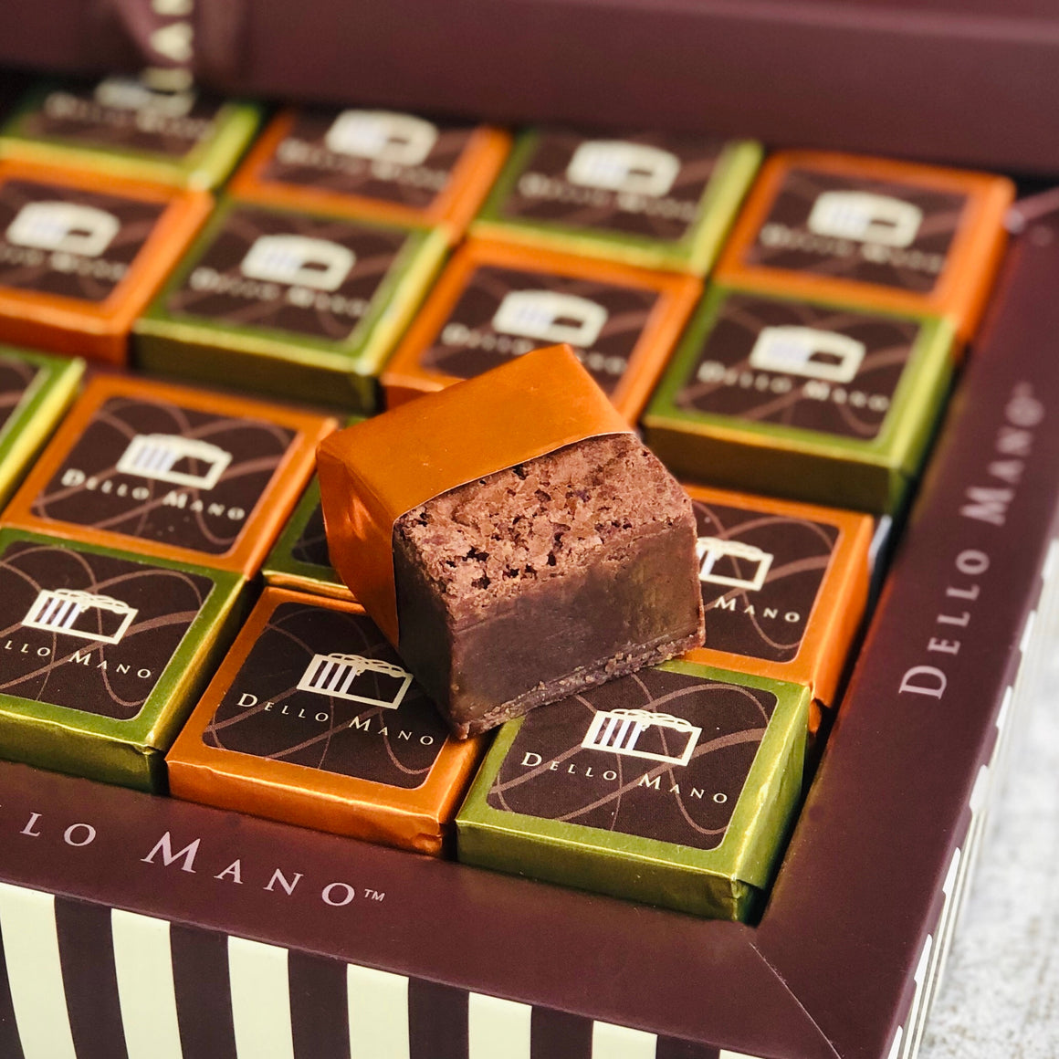 Chocolate Gift Box Luxury Brownie - Classic Salted Caramel