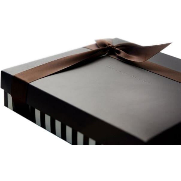 Dello Mano Luxury Brownies Cube- 9 pce gift box: BULK BUY - Dello Mano  - 3