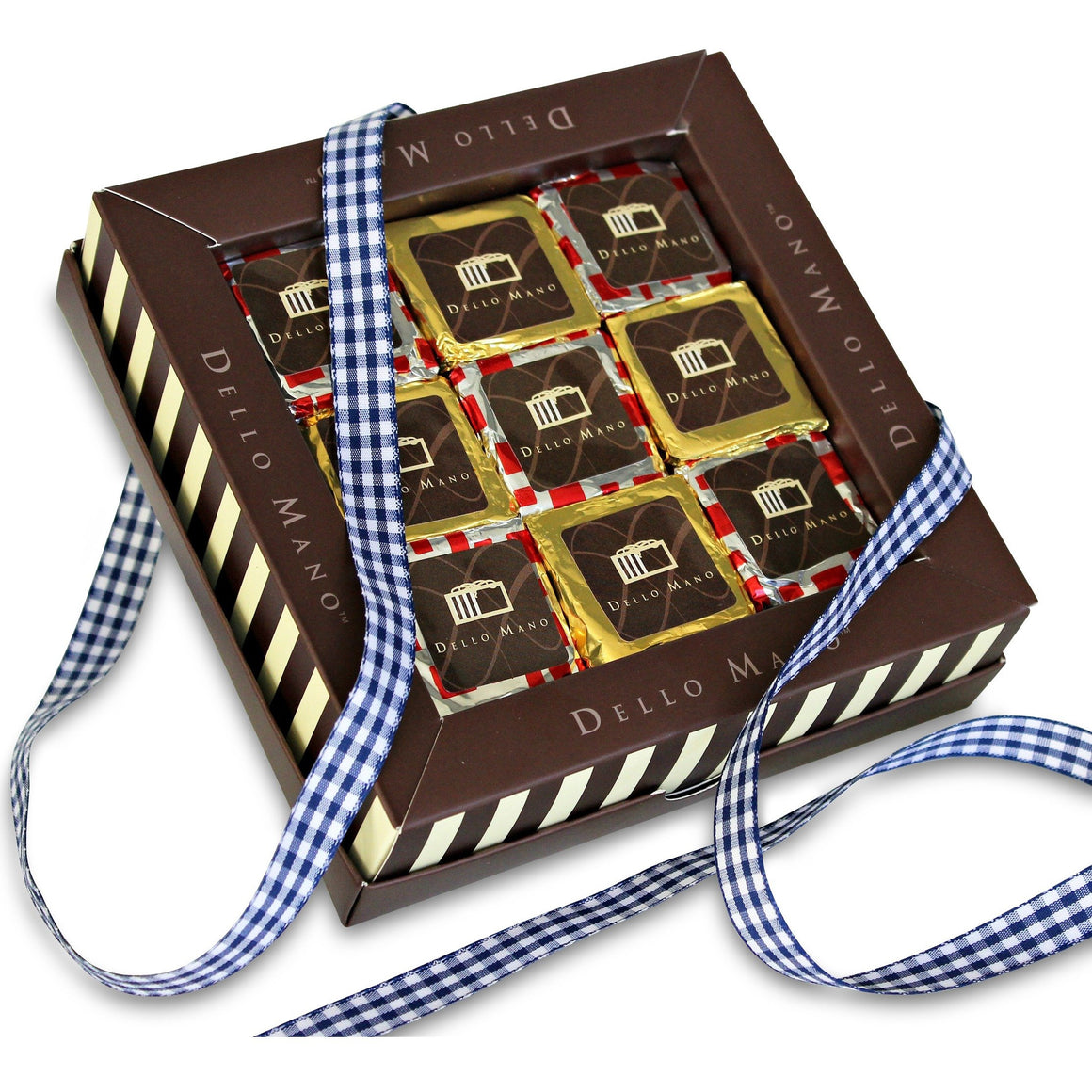 Father's Day Limited Edition Rum & Raisin Checkboard Brownie Gift Box -2