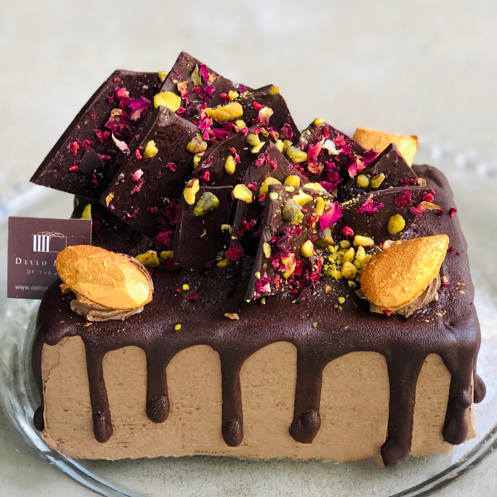 Vegan Brownie Cake - Chocolate Jewel Box