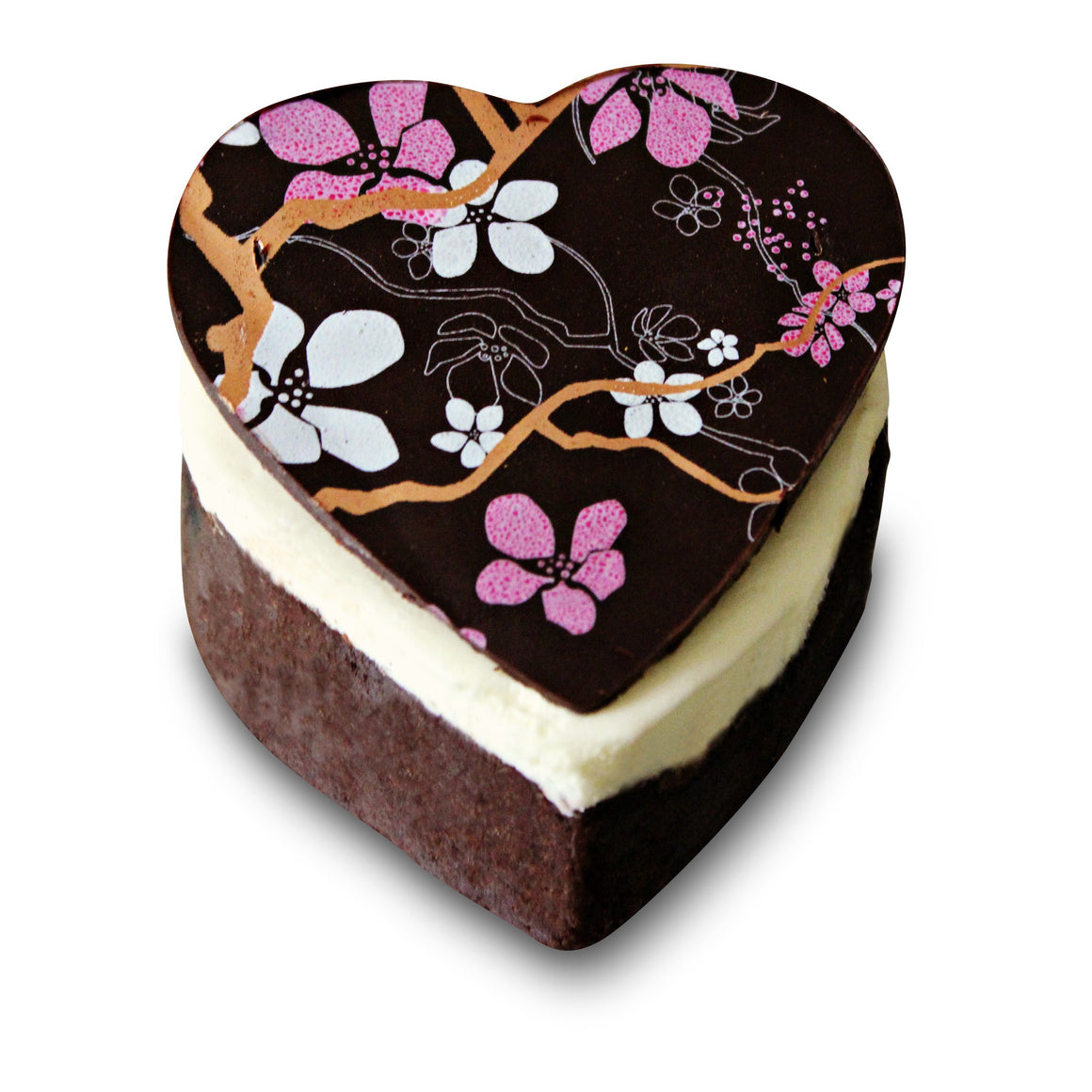 Cupid's Brownie Heart - Dello Mano -handmade