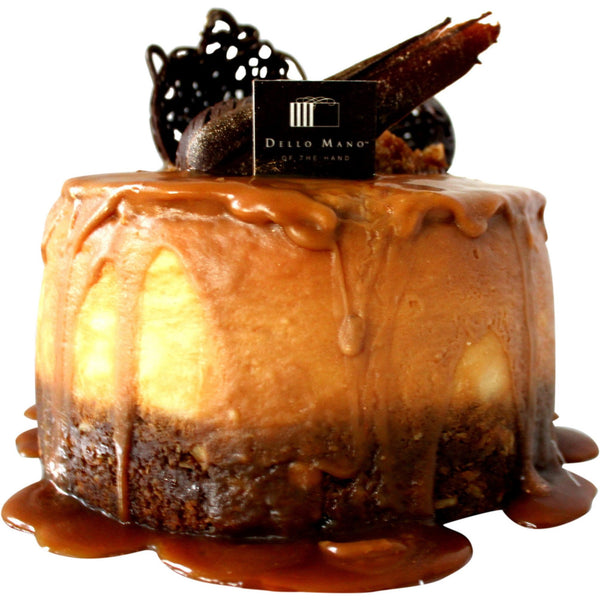 Caramel Cheesecake - Dello Mano