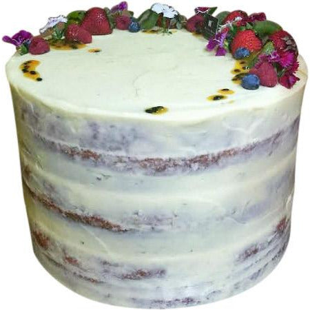 3 Layer Lemon Sour Cream CakeTower - Dello Mano