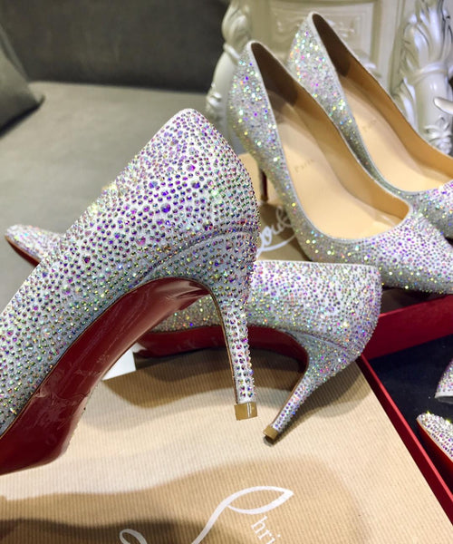 Special Edition Crystal Pumps - Up to size 11