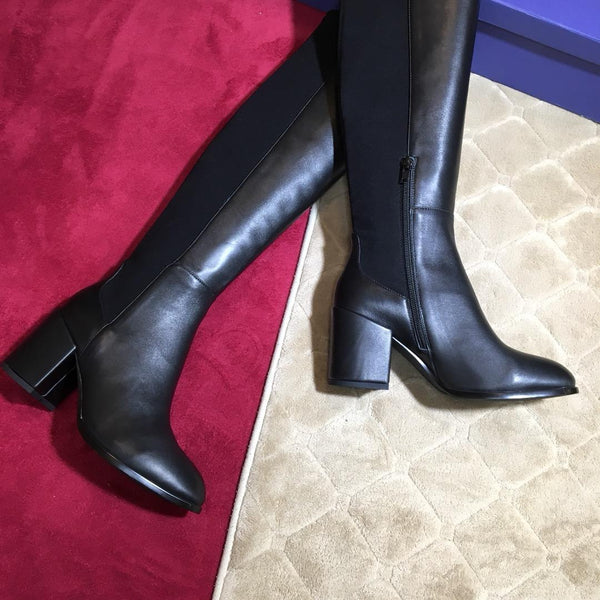 Stretch Heeled Boot - 2 Models