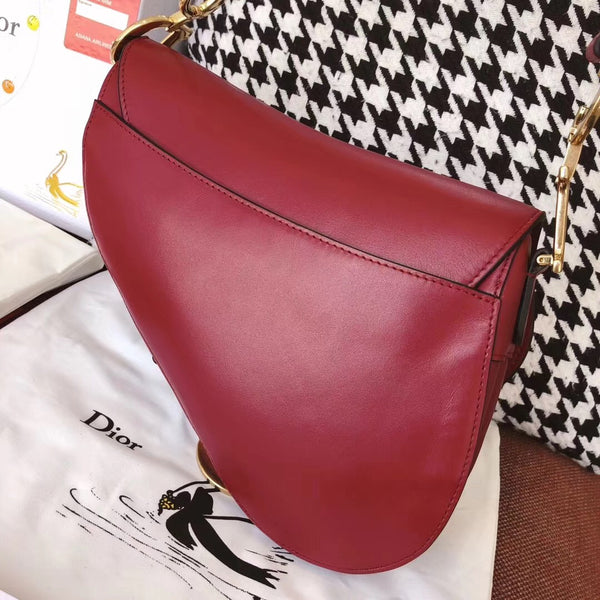 Saddle Leather Bag - Size L
