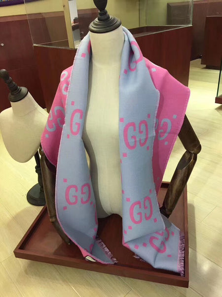 New Wool And Silk-Blend Scarf
