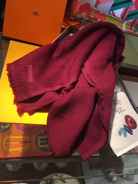 New Cashmere And Silk-Blend Scarf