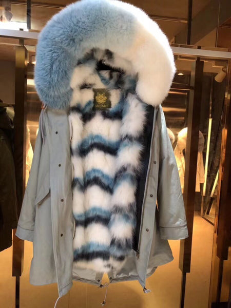 Luxury Limited Edition Fur Parkas