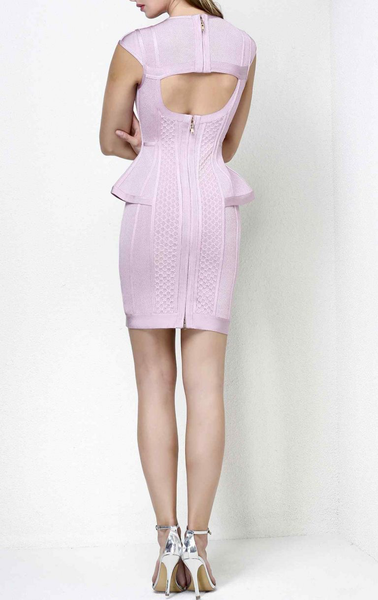 Peplum Bandage Dress