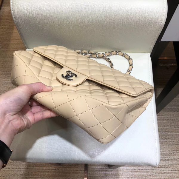 Limited Stock: Beige Classic Medium Size Bag