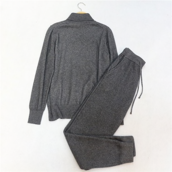 Turtleneck Cashmere Set
