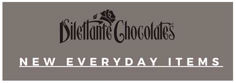 NEW! Everyday Items from Dilettante Chocolates