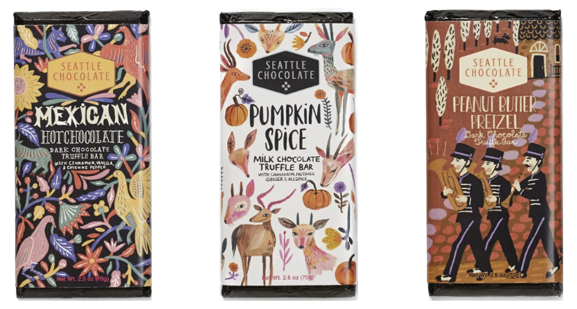 Fall Line from Seattle Chocolate