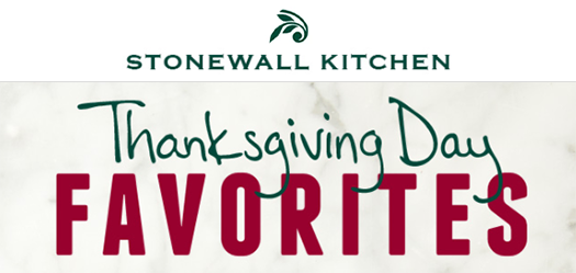 Stonewall Kitchen - Thanksgiving Day Favorites