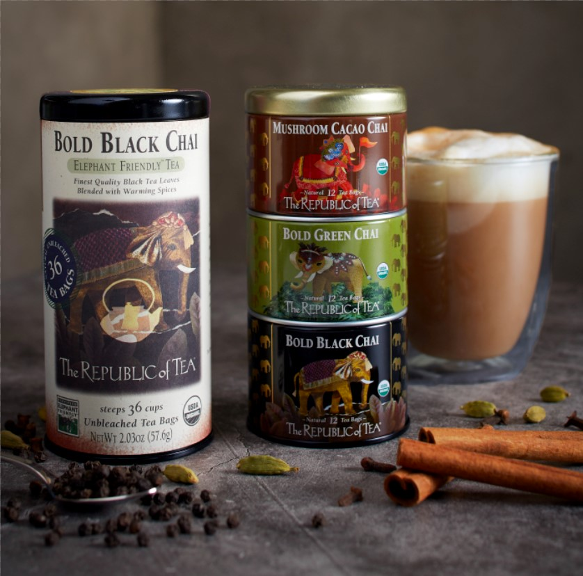 Bold, Spicy and NEW! Teas from The Republic of Tea