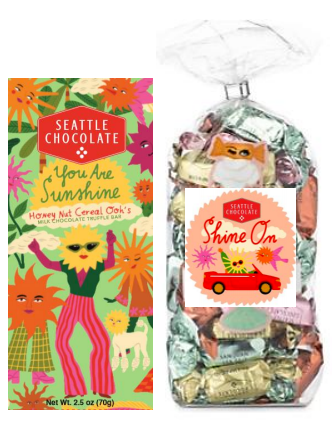 "Seattle Chocolate Announces NEW ""Sunshine"" Give Back Collection"