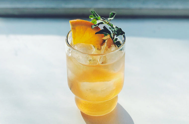 Need something a little stronger than tea? Try this spin on a G&T!