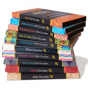 Beech's Fine Chocolates bars