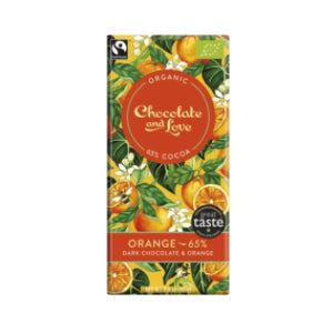 Chocolate and Love - Orange 65%