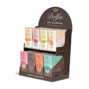 Dolfin Chocolate large wooden display empty display holds