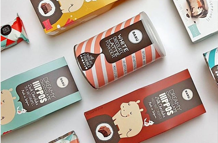 Belgium's Chocolate Source baru dreamy chocolate hippos