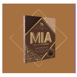 MIA Food with Thoughts dark chocolate