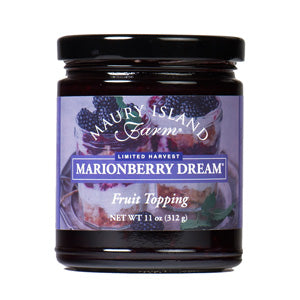 Maury Island Farms marionberry fruit topping