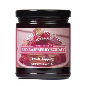 Maury Island Farms red raspberry fruit topping