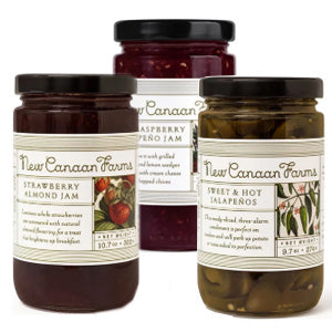 New Canaan Farms pepper jellies