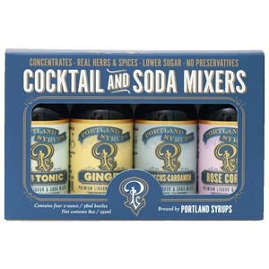 Portland Syrups Cocktail Soda Mixers