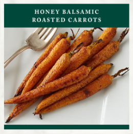 Stonewall Thanksgiving Recipe - Honey Balsamic Roasted Carrots