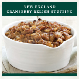 Stonewall Thanksgiving Recipe - New England Cranberry Relish Stuffing