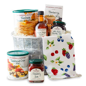 Stonewall Kitchen breakfast gift basket