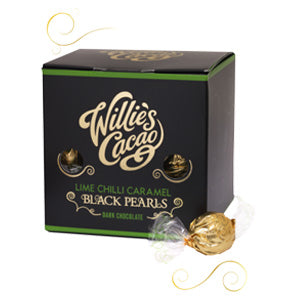Willies Cacao lime chili caramels