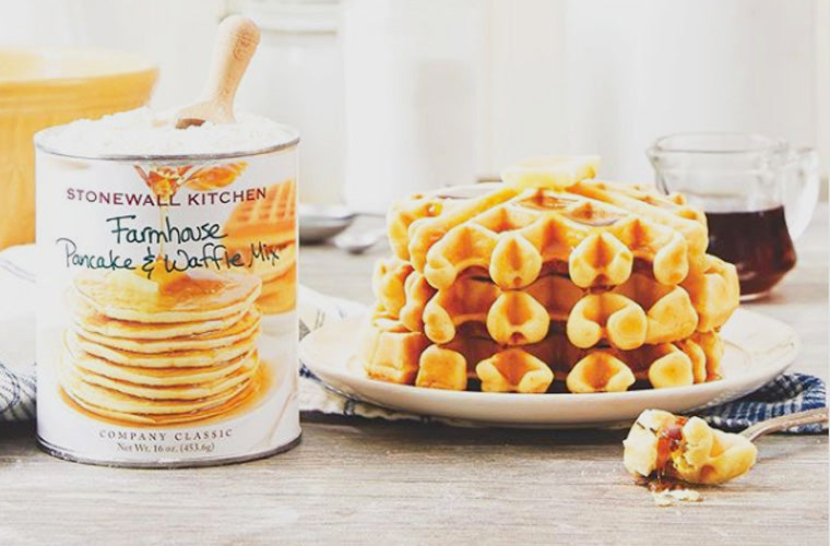 Stonewall Kitchen pancake and waffle mix