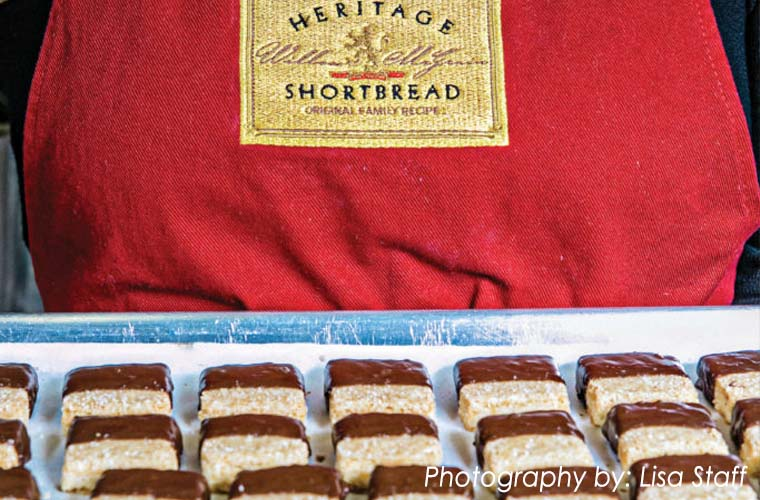 Heritage Shortbread chocolate dipped