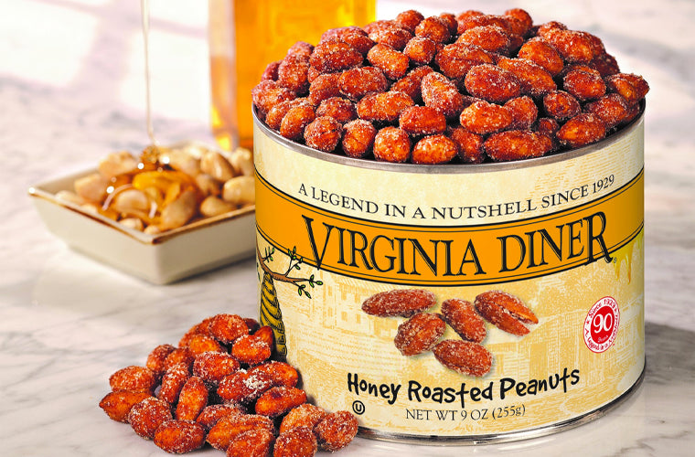 Virginia Diner honey roasted peanuts