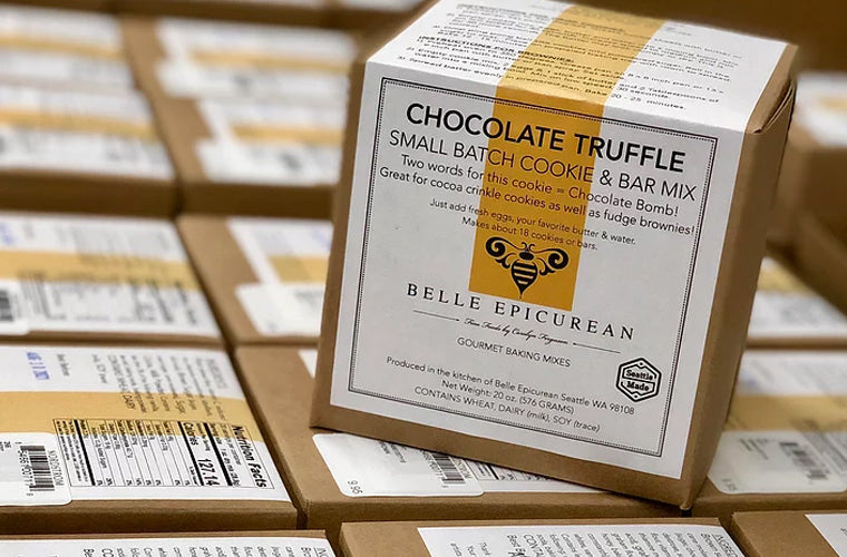 Belle Epicurean small batch cookie and bar mix