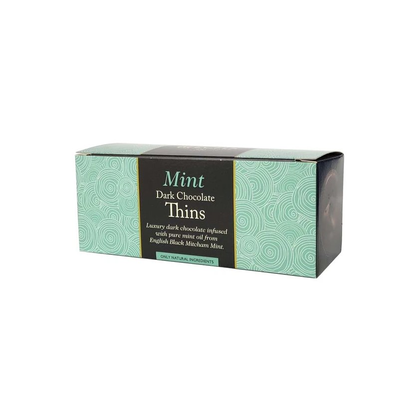 Beech's Fine Chocolates Dark Chocolate Mint Thins