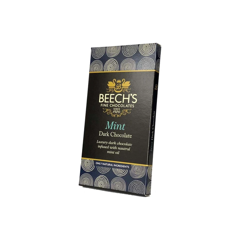 Beech's Fine Chocolates Mint Dark Chocolate Bar