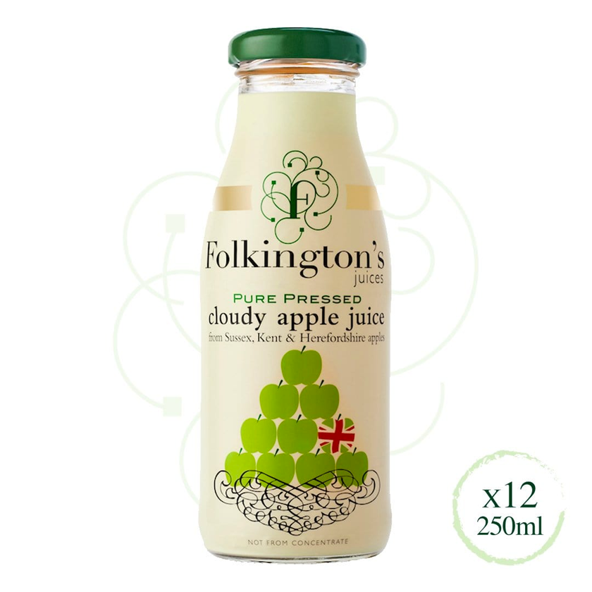 Folkington's Juices Cloudy Apple Juice
