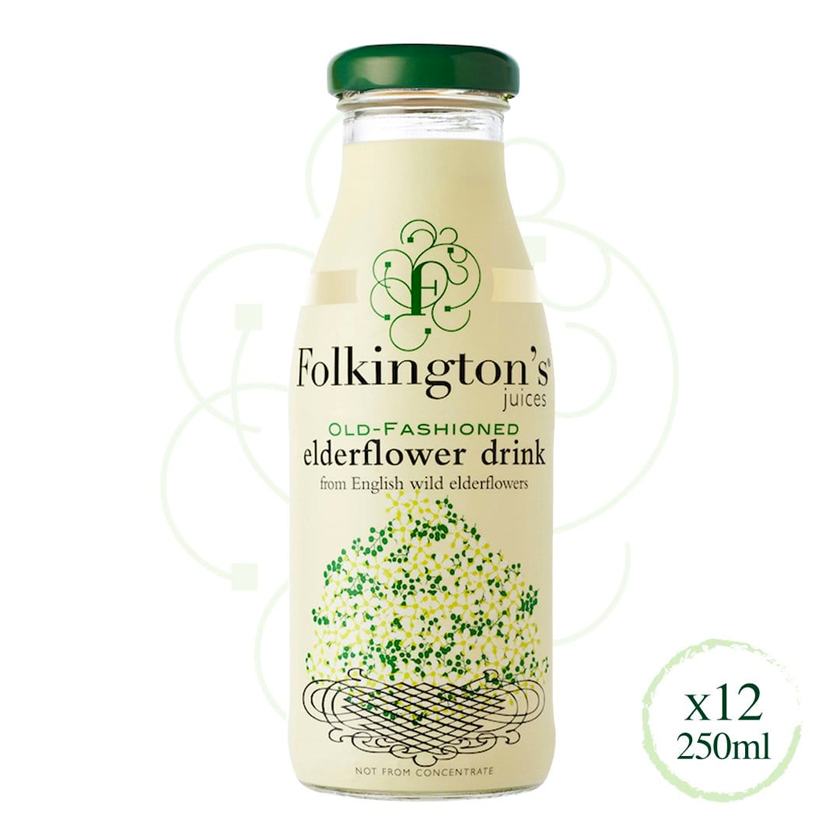 Folkington's Juices Elderflower Drink